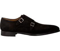 Braune Magnanni Business Schuhe 20501