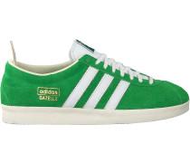 Grüne Adidas Sneaker Low Gazelle Vintage W