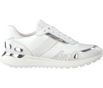 Weiße Michael Kors Sneaker Low Monroe Trainer