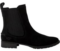 Schwarze UGG Chelsea Boots Hillhurst Sneaker