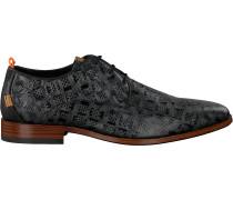 Schwarze Rehab Business Schuhe Greg Tetris