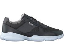Graue Boss Sneaker Low Rapid Runn Melt