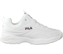 Weiße Fila Sneaker RAY LOW MEN