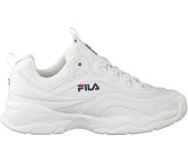 Weiße Fila Sneaker RAY LOW WMN