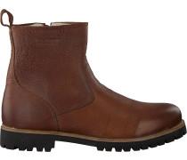 Braune Blackstone Ankle Boots Om63