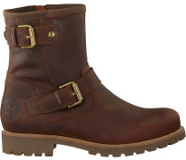 Braune Panama Jack Ankle Boots Felina B5