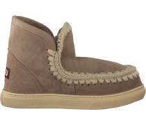 Taupe Mou Ankle Boots Fw111000a