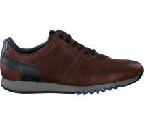 Braune Floris Van Bommel Sneaker 16171