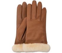 Cognac UGG Handschuhe Classic Leather Smart Glove