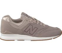 Graue New Balance Sneaker Wl697