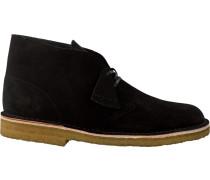 Schwarze Ankle Boots Desert Boot Heren Italy