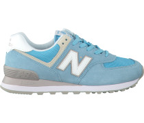 Blaue New Balance Sneaker Wl574