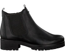 Schwarze Gabor Ankle Boots 091