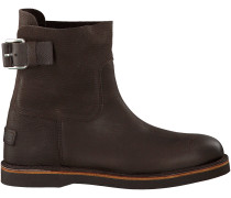 Braune Shabbies Ankle Boots 181020020