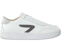 Weiße HUB Sneaker Low Baseline-m
