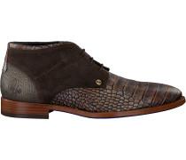 Braune Rehab Business Schuhe Salvador