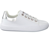 Weiße Guess Sneaker Bucky