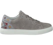 Graue Lola Cruz Sneaker 302Z04Bk