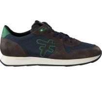 Blaue Floris Van Bommel Sneaker 16226