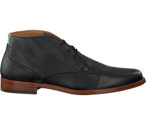 Graue Rehab Business Schuhe Cage Brogue