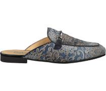 Blaue Gabor Loafer 510
