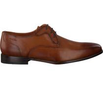 Cognacfarbene Van Lier Business Schuhe 1911401