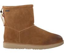 Cognac UGG Ankle Boots Classic Toggle Waterproof