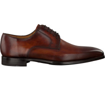 Cognacfarbene Magnanni Business Schuhe 20117