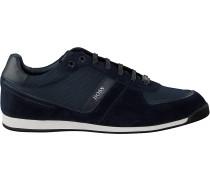 Blaue Boss Sneaker Low Glaze Lowp