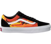Gelbe Vans Sneaker OLD Skool WMN