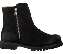 Schwarze Blackstone Ankle Boots Ql68