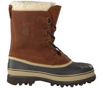Braune Sorel Ankle Boots Caribou WL
