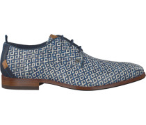 Blaue Rehab Business Schuhe Greg Checker