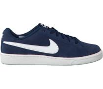 Blaue Nike Sneaker Court Royale Suede MEN