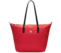 Rote Tommy Hilfiger Handtasche Poppe Tote