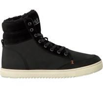 Schwarze HUB Sneaker Millennium