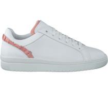 Weiße Nubikk Sneaker Yeye Ruffle