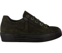 Grüne Gabor Sneaker 468
