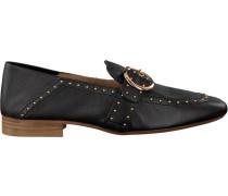 Schwarze Bronx Loafer 66064
