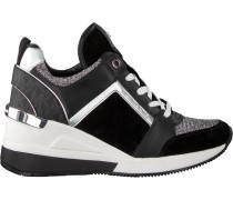 Schwarze Michael Kors Sneaker Georgie Trainer