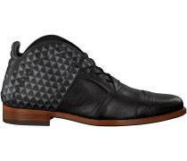 Schwarze Rehab Business Schuhe Kurt