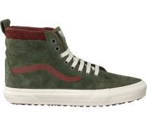 Grüne Vans Sneaker Ua Sk8-hi Heren