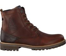 Cognacfarbene Gaastra Ankle Boots Cape High