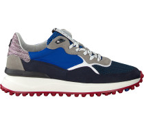 Blaue Floris Van Bommel Sneaker Low 16301
