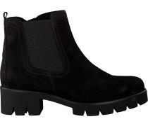 Schwarze Gabor Chelsea Boots 710