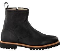 Schwarze Blackstone Ankle Boots Sg54