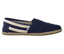 Blaue Toms Slipper Classic Heren