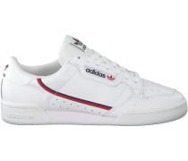 Weiße Adidas Sneaker Continental 80
