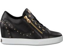 Schwarze Guess Sneaker Flnna1 Lea12