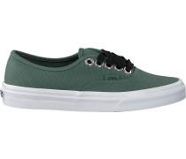 Grüne Vans Sneaker Authentic WMN